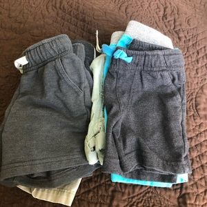 6 pairs of cat and jack and jumping beans shorts